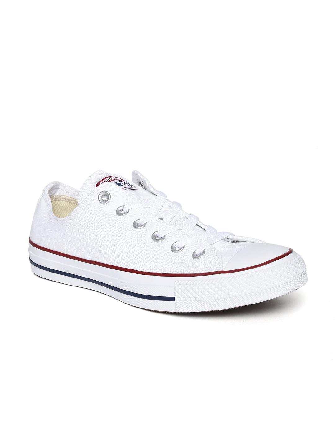 Converse Unisex White Canvas Shoes