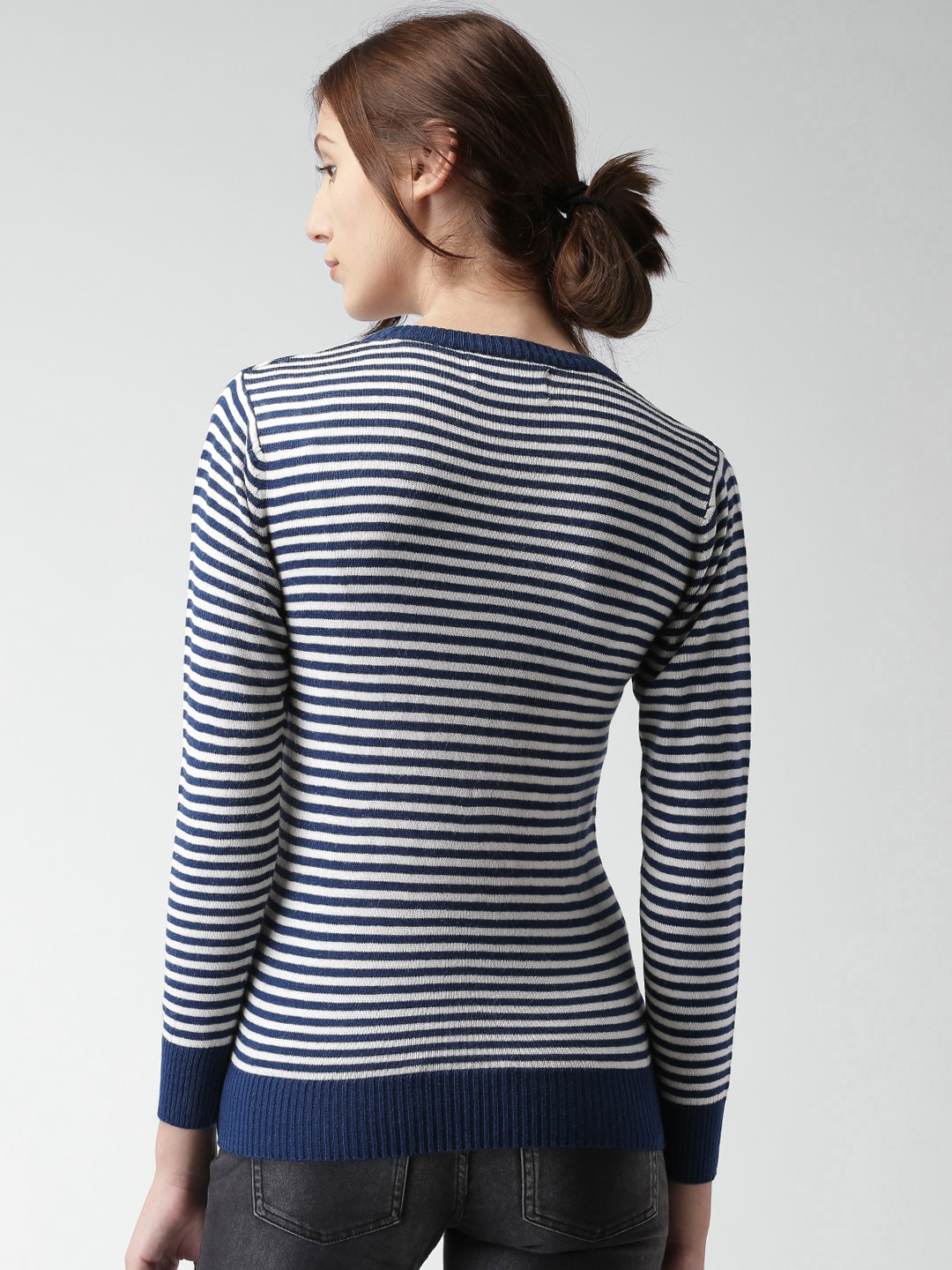 Mast Harbour Stripe Sweaters - Buy Mast Harbour Stripe Sweaters ...