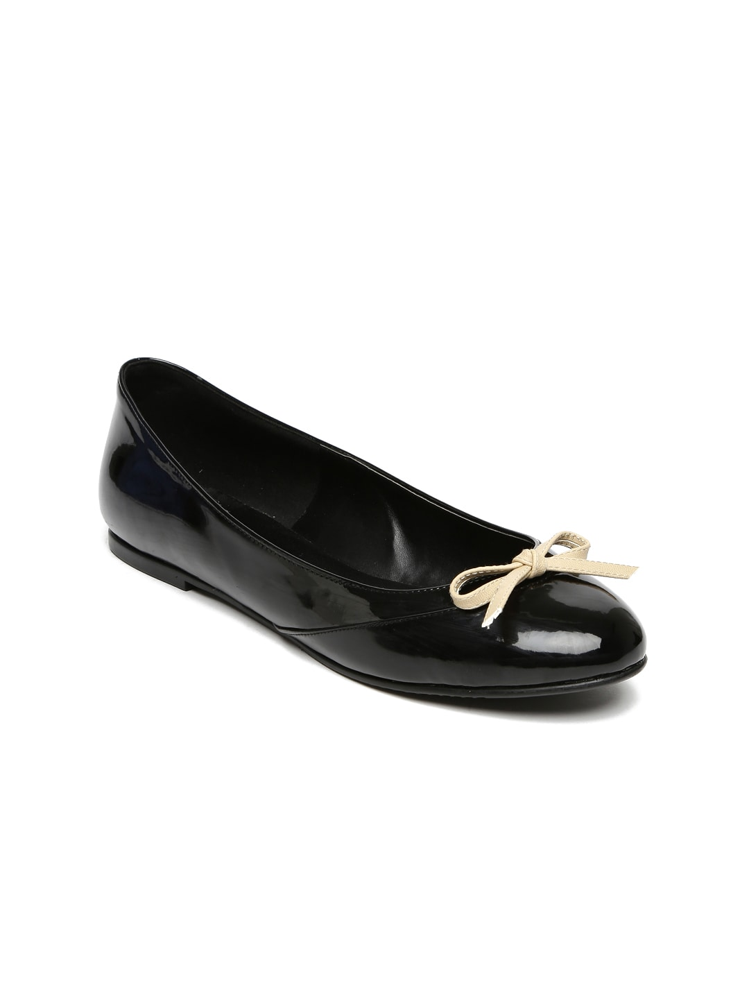 HEATWAVE Women Black Ballerinas