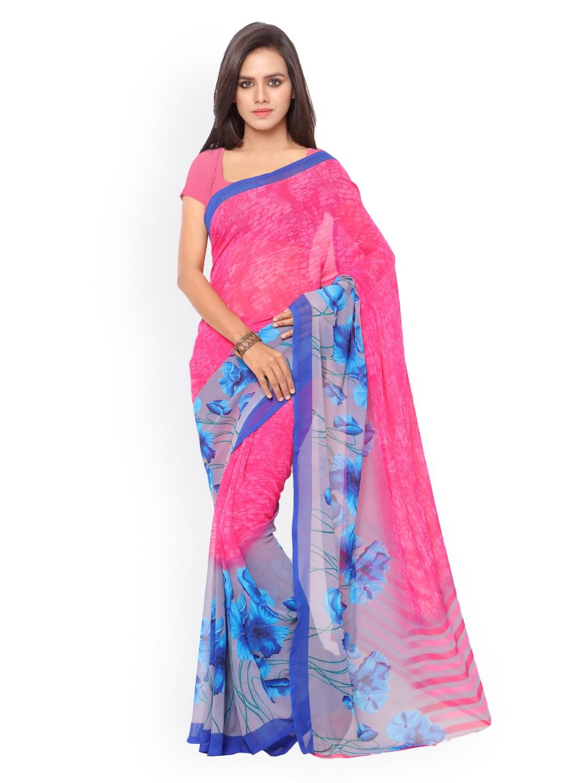 ef3811c4b92 Ligalz Printed Sarees - Buy Ligalz Printed Sarees online in India