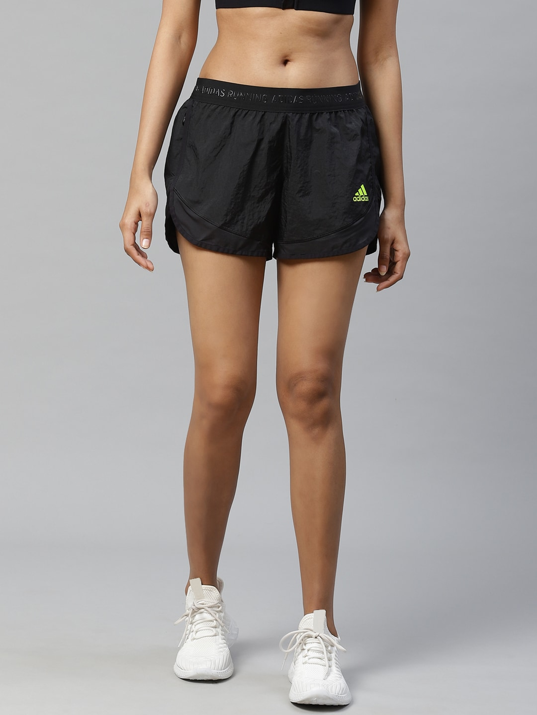 ADIDAS Women Black Solid Ultra Running Shorts