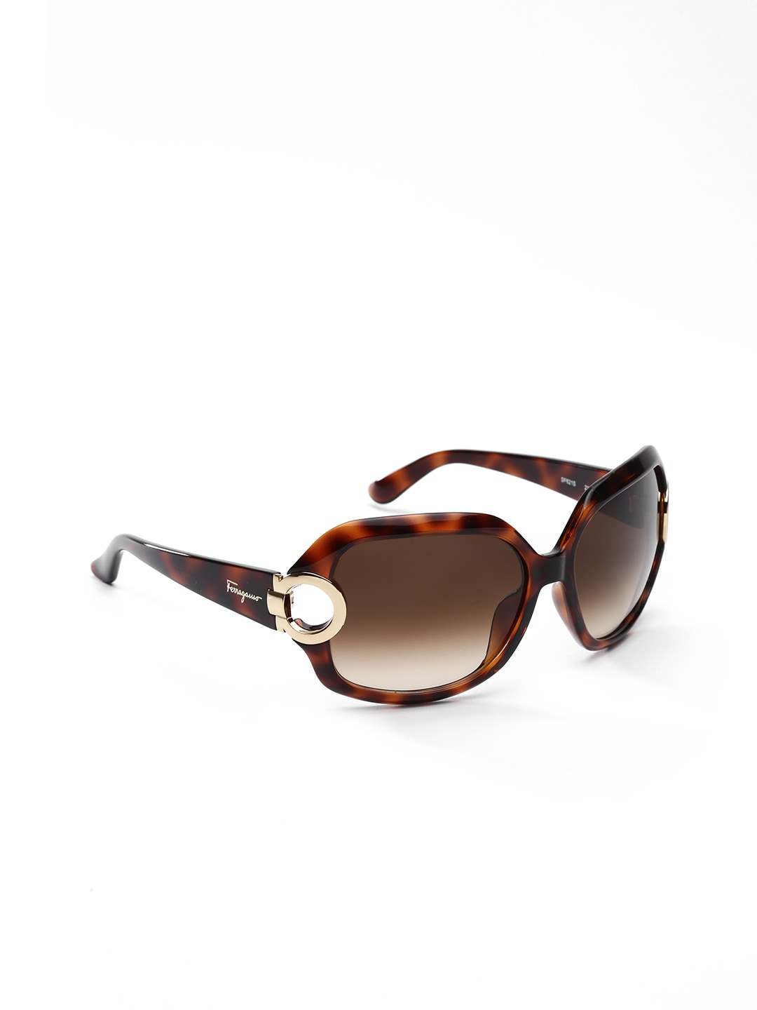 Salvatore Ferragamo Women Printed Oversized Sunglasses SF621S 238