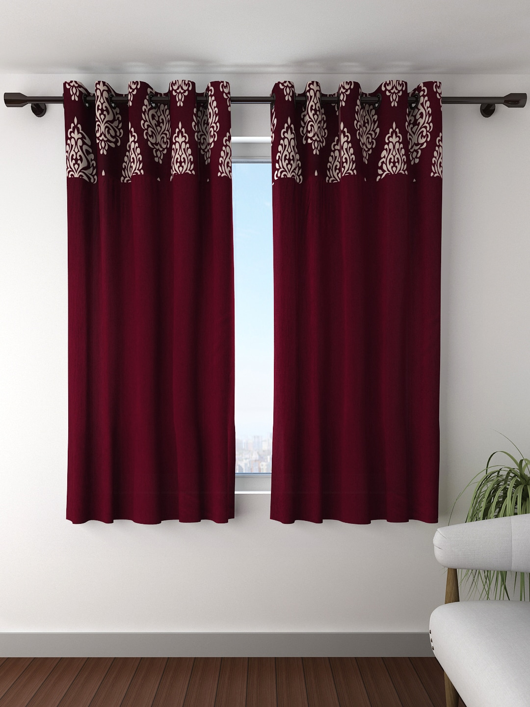 Window curtain - Curtains Buy Window Curtains Door Curtains Sheers Online Myntra