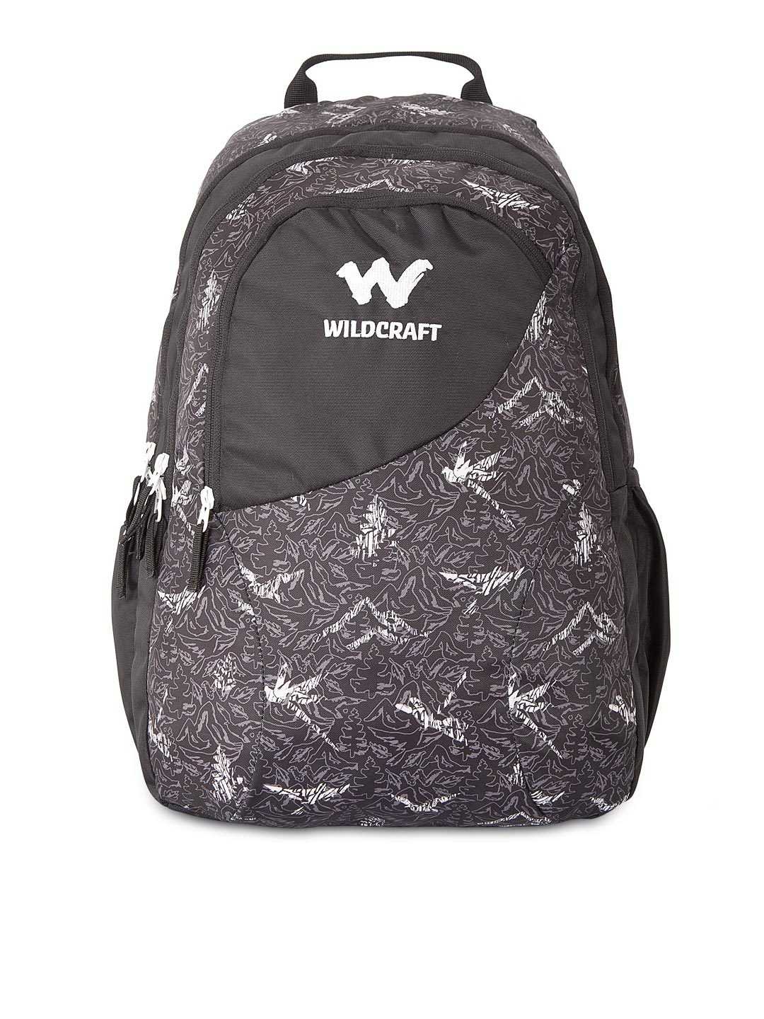 Wildcraft Black Grey Backpacks - Buy Wildcraft Black Grey Backpacks online  in India 94043aee3869a