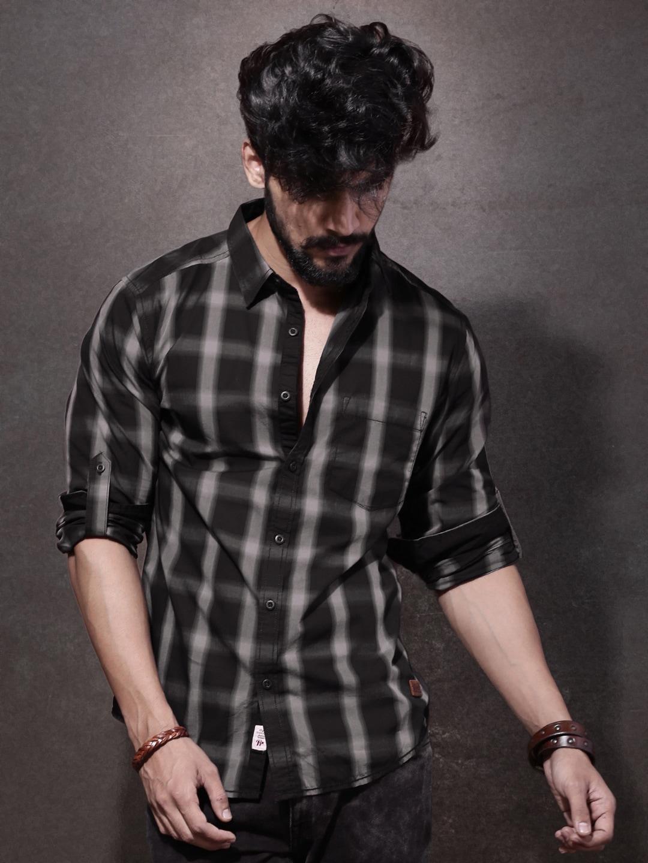 38eef99b71cd Men Black Shirts