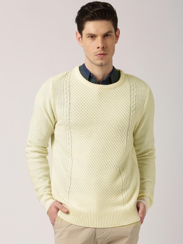 ETHER Cream-Coloured Sweater