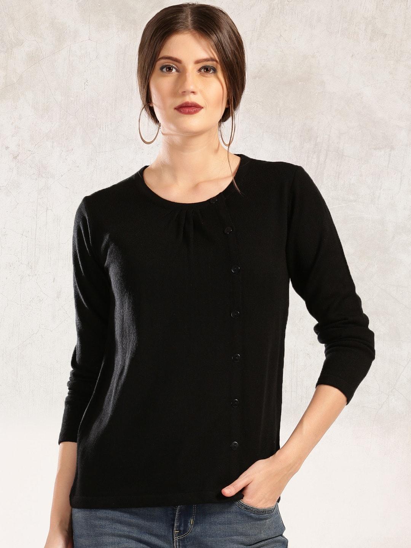 Buy Anouk Women Maroon Cardigan - Sweaters for Women | Myntra