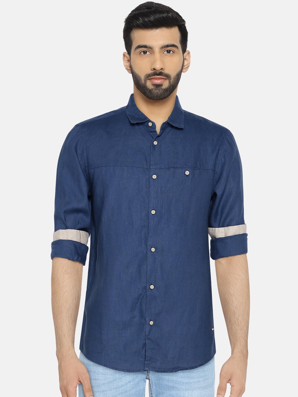 f19165000c45 Linen Shirt - Buy Linen Shirts for Men Online in India