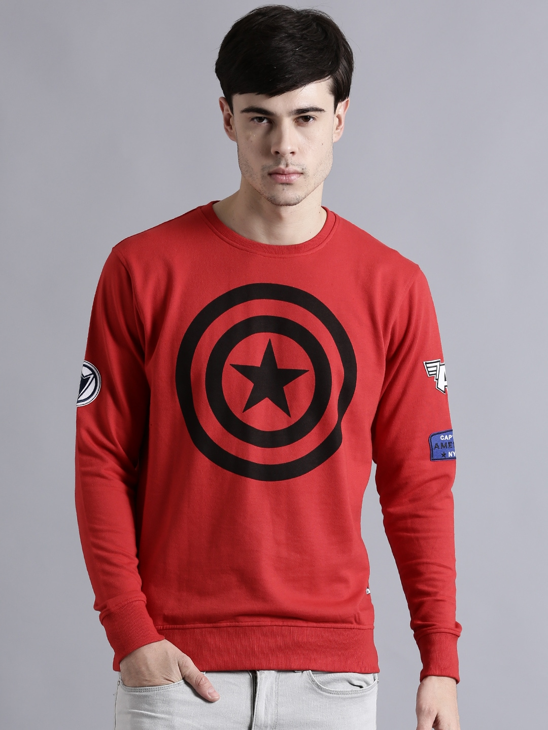 Marvel Clothing Exclusive Comics Store Online Myntra Ironman Red Tees