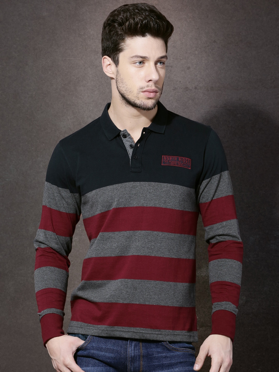Collar T Shirts Buy Collared T Shirts Online Myntra