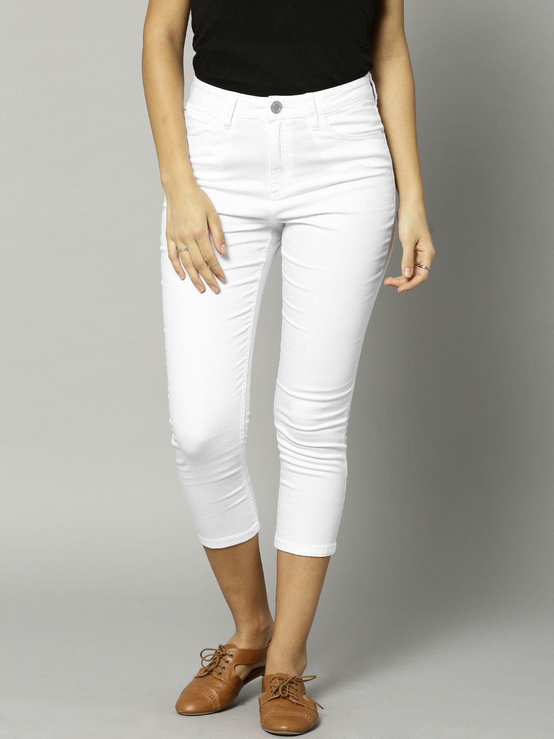 Marks & Spencer White Super Skinny Ankle-Length Jeggings