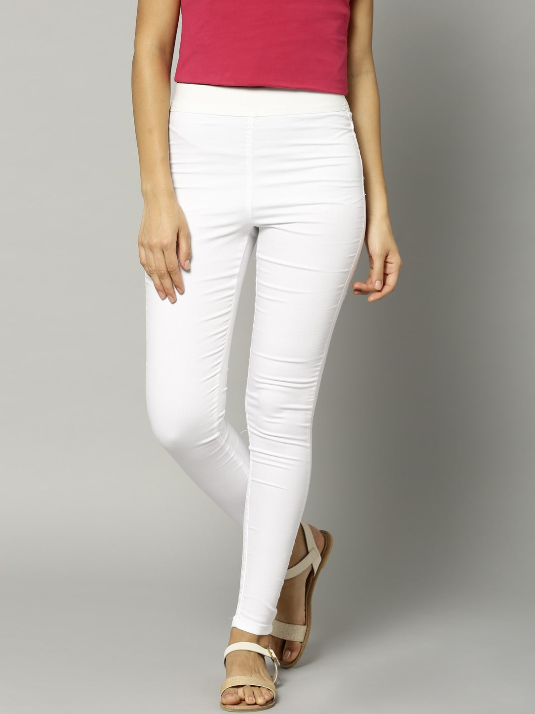 Marks & Spencer White Super Skinny Jeggings