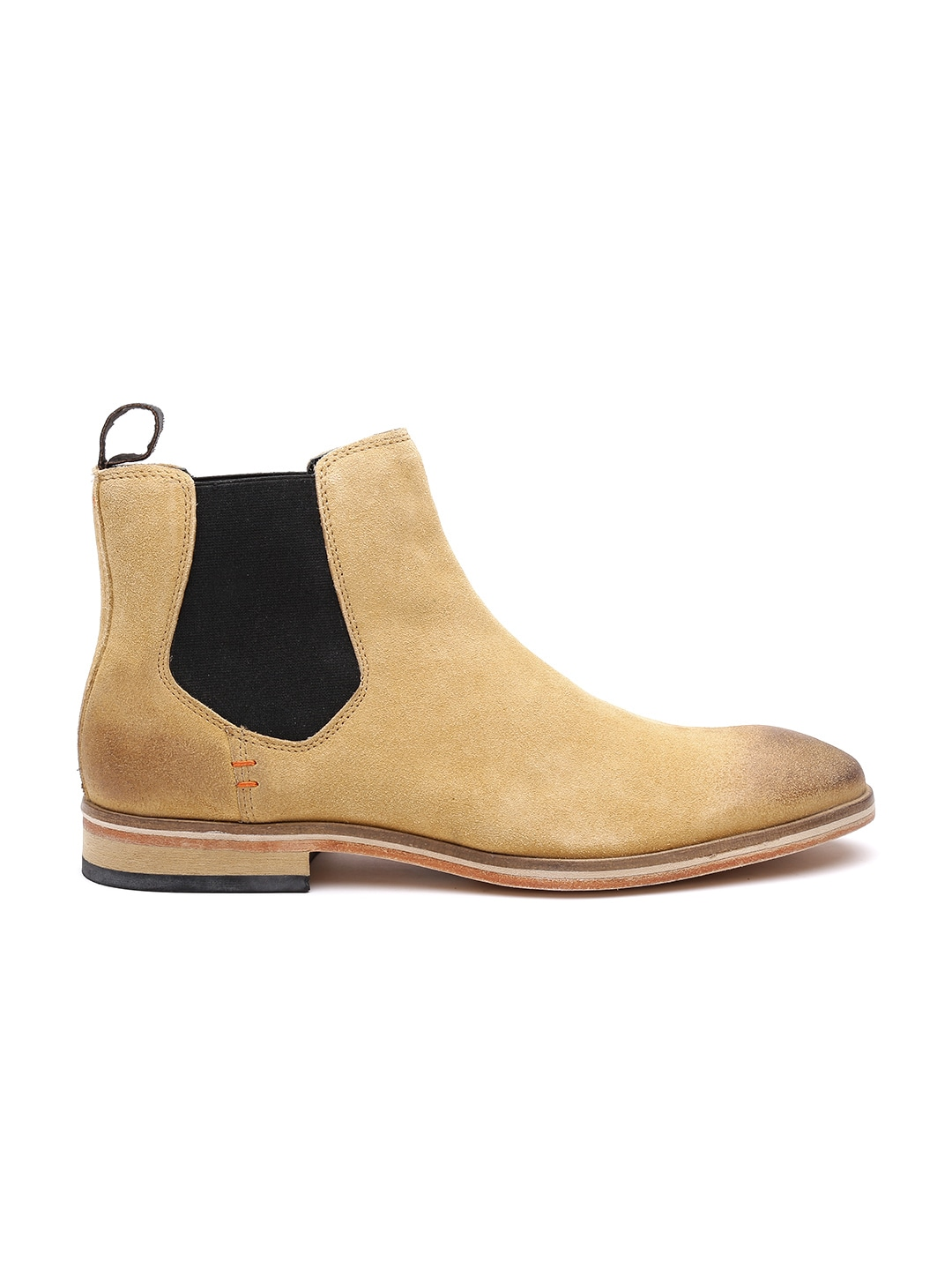 buy superdry beige suede chelsea boots casual shoes