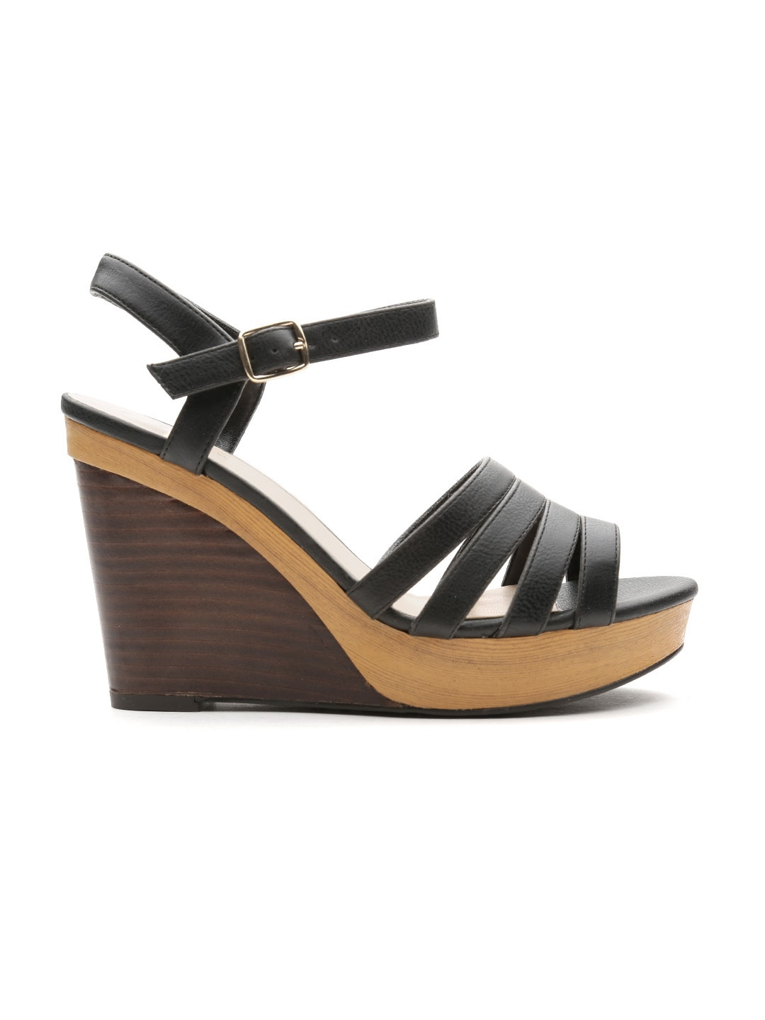 New Look Women Black Wedges
