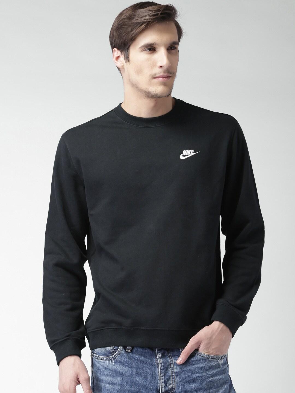 5c1e2eba84b8 Nike Sweatshirt Sweatshirts - Buy Nike Sweatshirt Sweatshirts online in  India