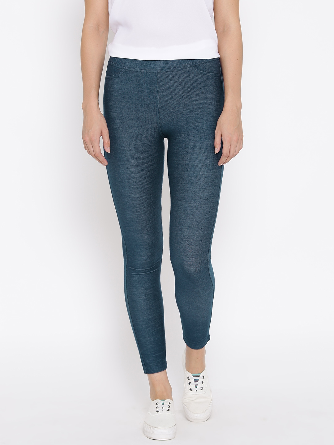 Vero Moda Blue Jeggings