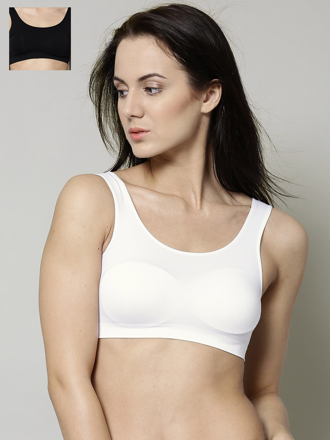 Marks & Spencer Pack of 2 Seamless Crop Tops