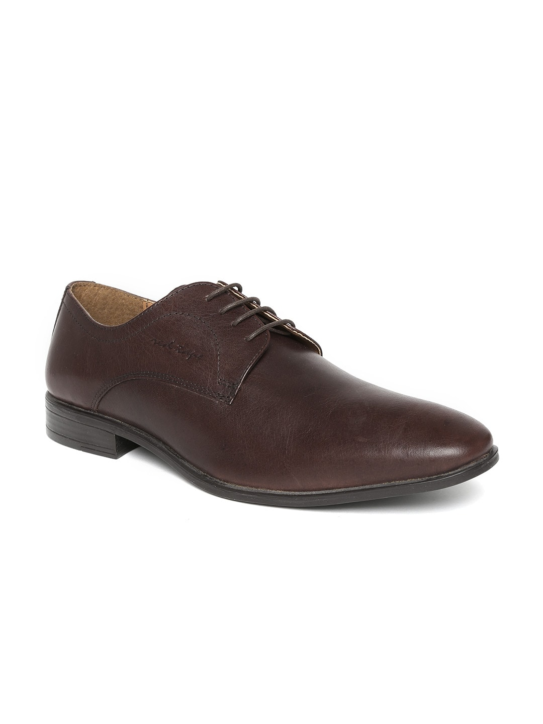 Buy Red Tape Men Coffee Brown Leather Formal Shoes - Formal Shoes ...