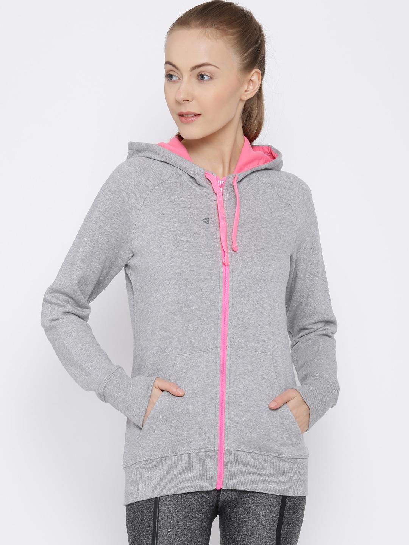 44f780f1b7 reebok hoodie womens pink