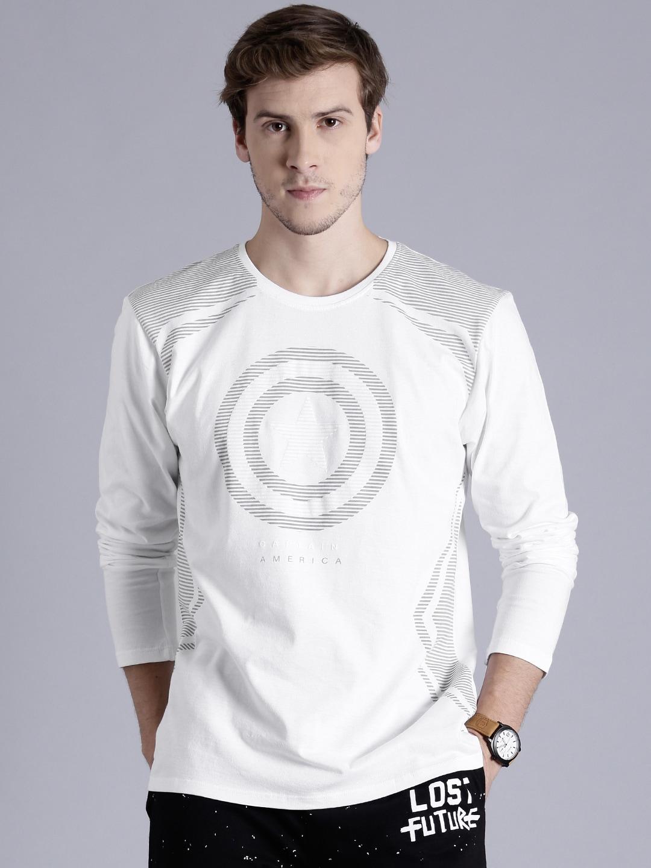 eba05c3eb80f White Tshirts - Buy White Tshirts Online in India