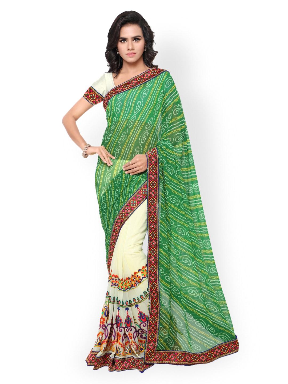 bandhani sarees buy handcrafted traditional bandhani saree