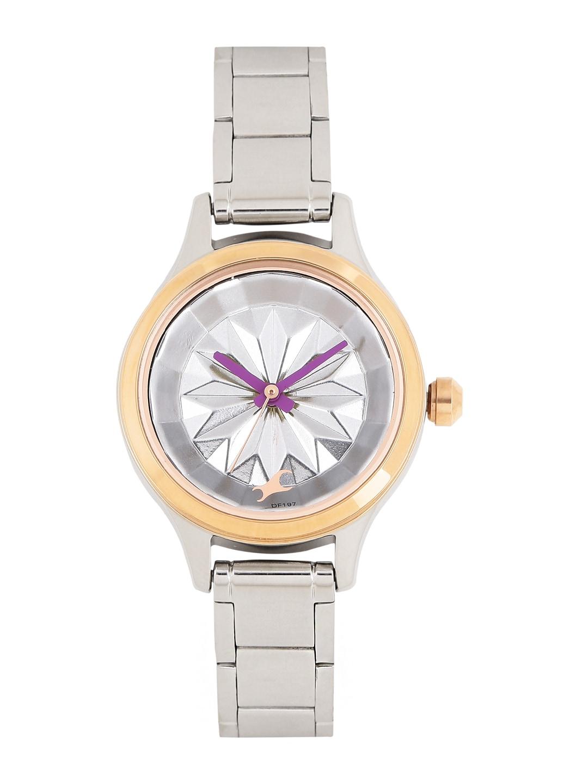 0fcea4cdc Fastrack Women Silver Watch - Buy Fastrack Women Silver Watch online in  India