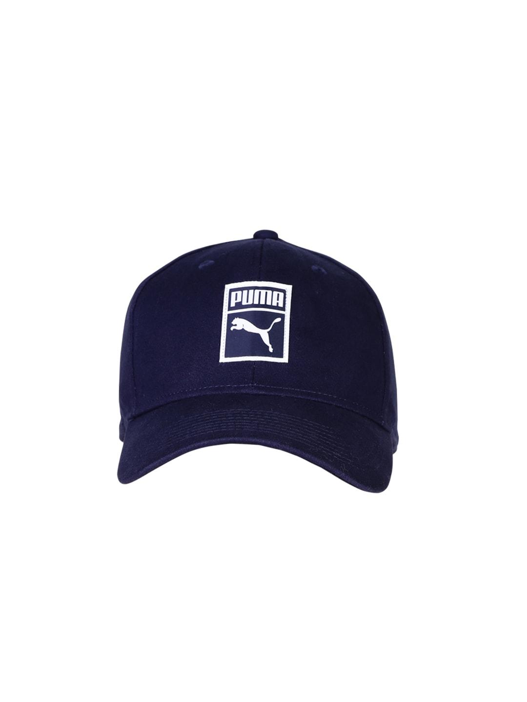 PUMA Unisex Navy Stretch Fit Cap