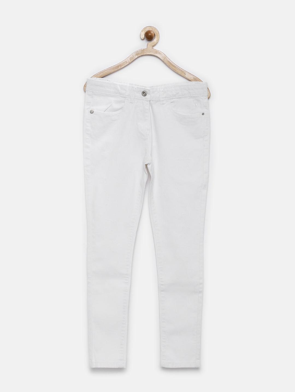 Junior White Jeans