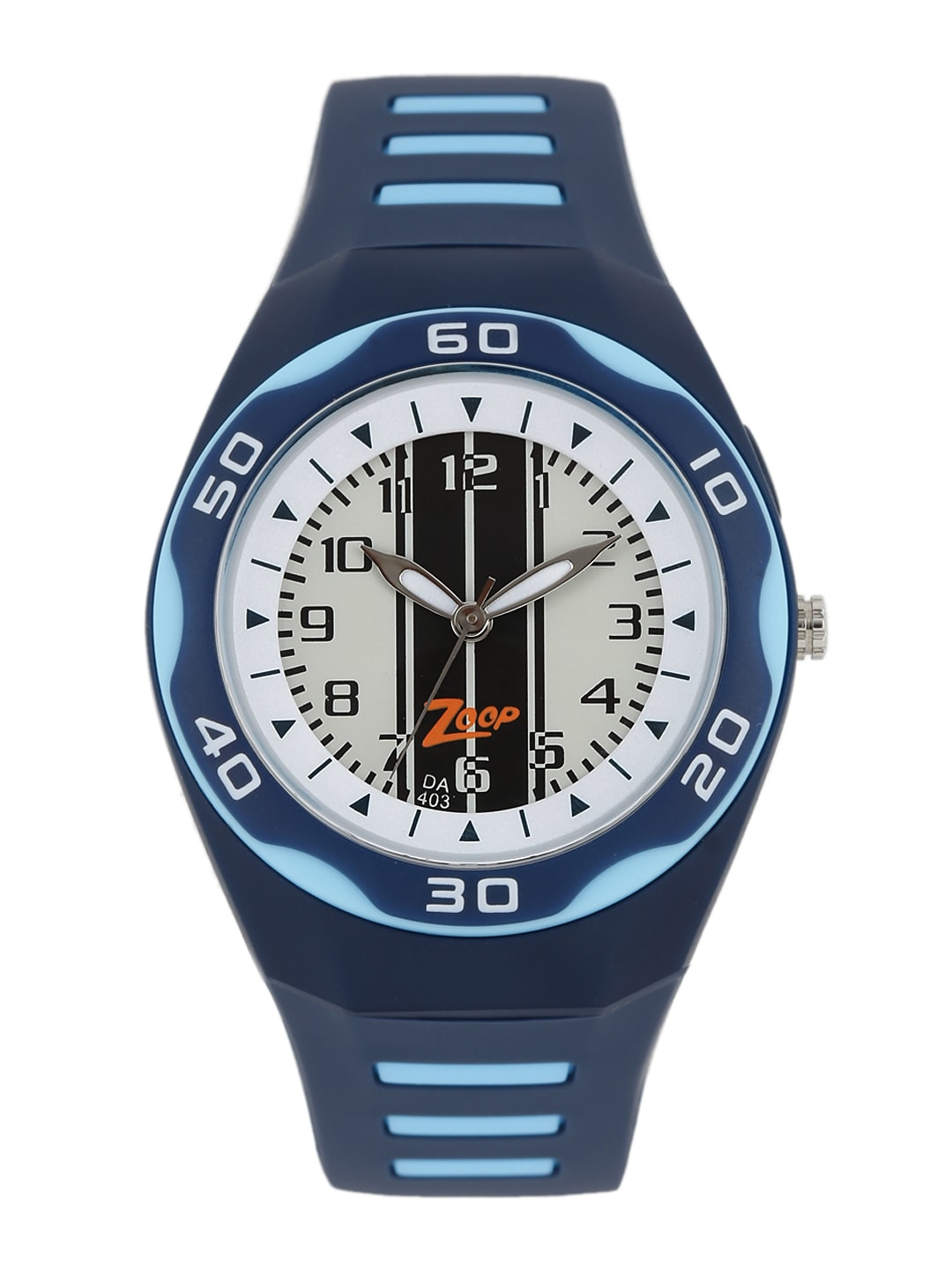 Zoop by Titan Boys Off-White Printed Dial Watch NEC3022PP01C