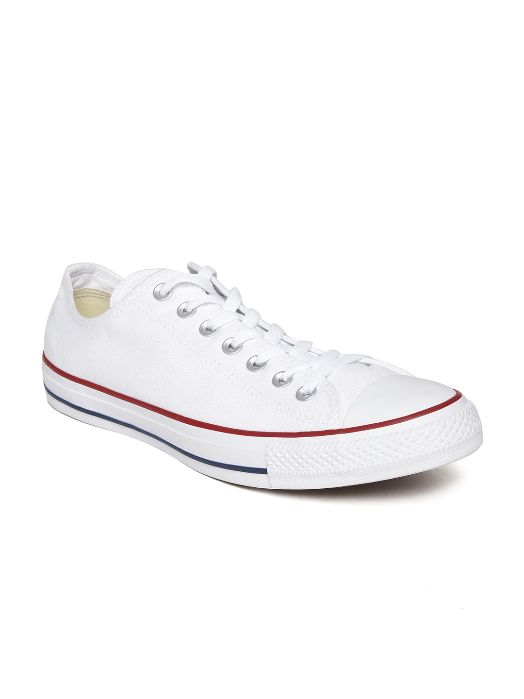 compare converse unisex white canvas shoes price