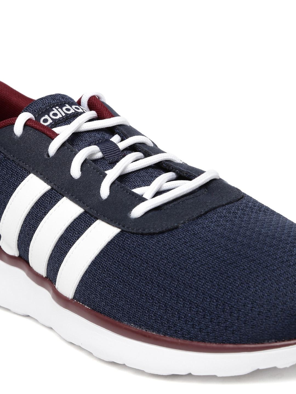 adidas neo uomini cloudfoam corsa scarpa da corsa, formatori online