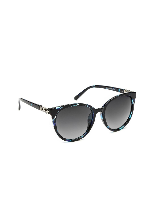 DressBerry Women Gradient Oval Sunglasses MFB-PI-8806-B