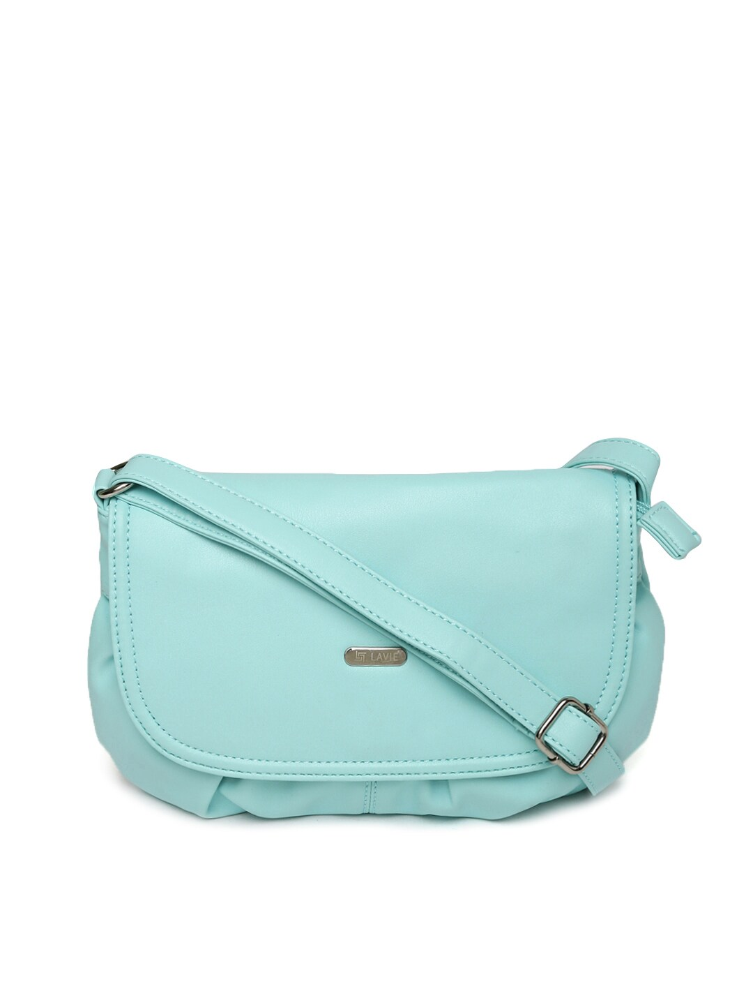 Buy Lavie Sea Green Sling Bag - Handbags for Women | Myntra