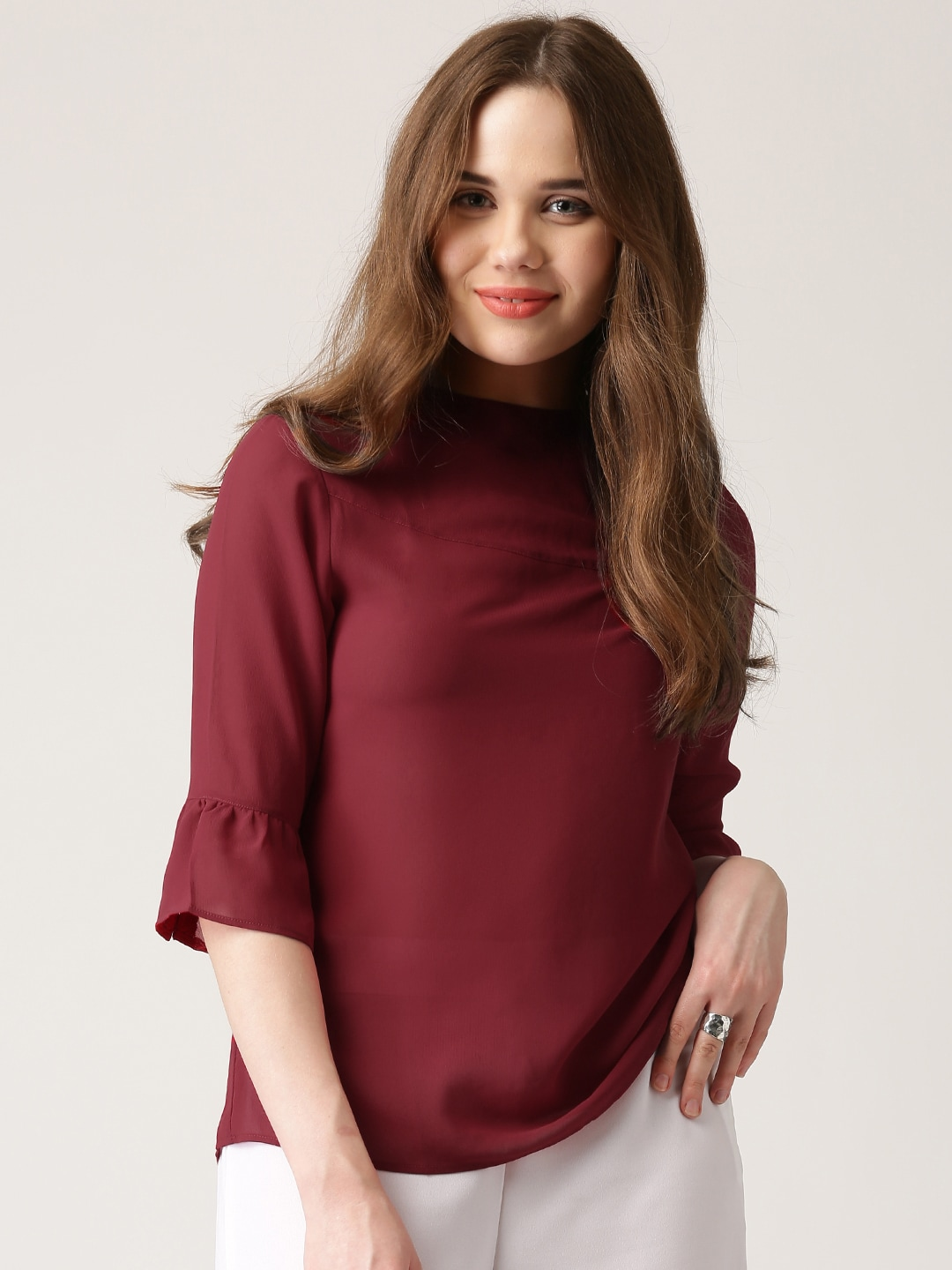 a51eb98de0f High Neck Tops - Buy High Neck Tops online in India
