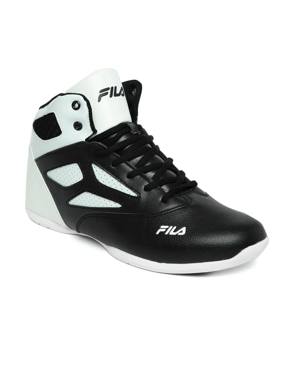 fila basketball shoes 2016. buy fila men black rim loop basketball shoes - sports for   myntra fila 2016 n