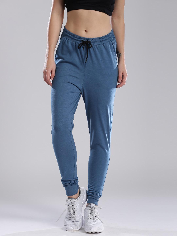 HRX by Hrithik Roshan Women Blue Track Pants