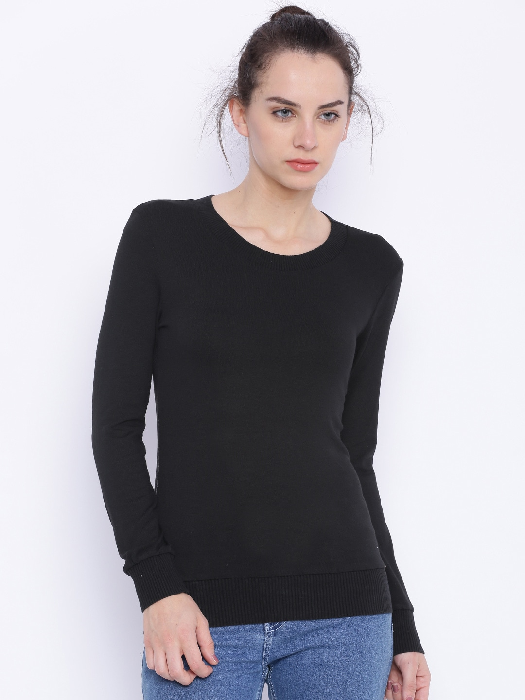 Deal Jeans Women Black Top