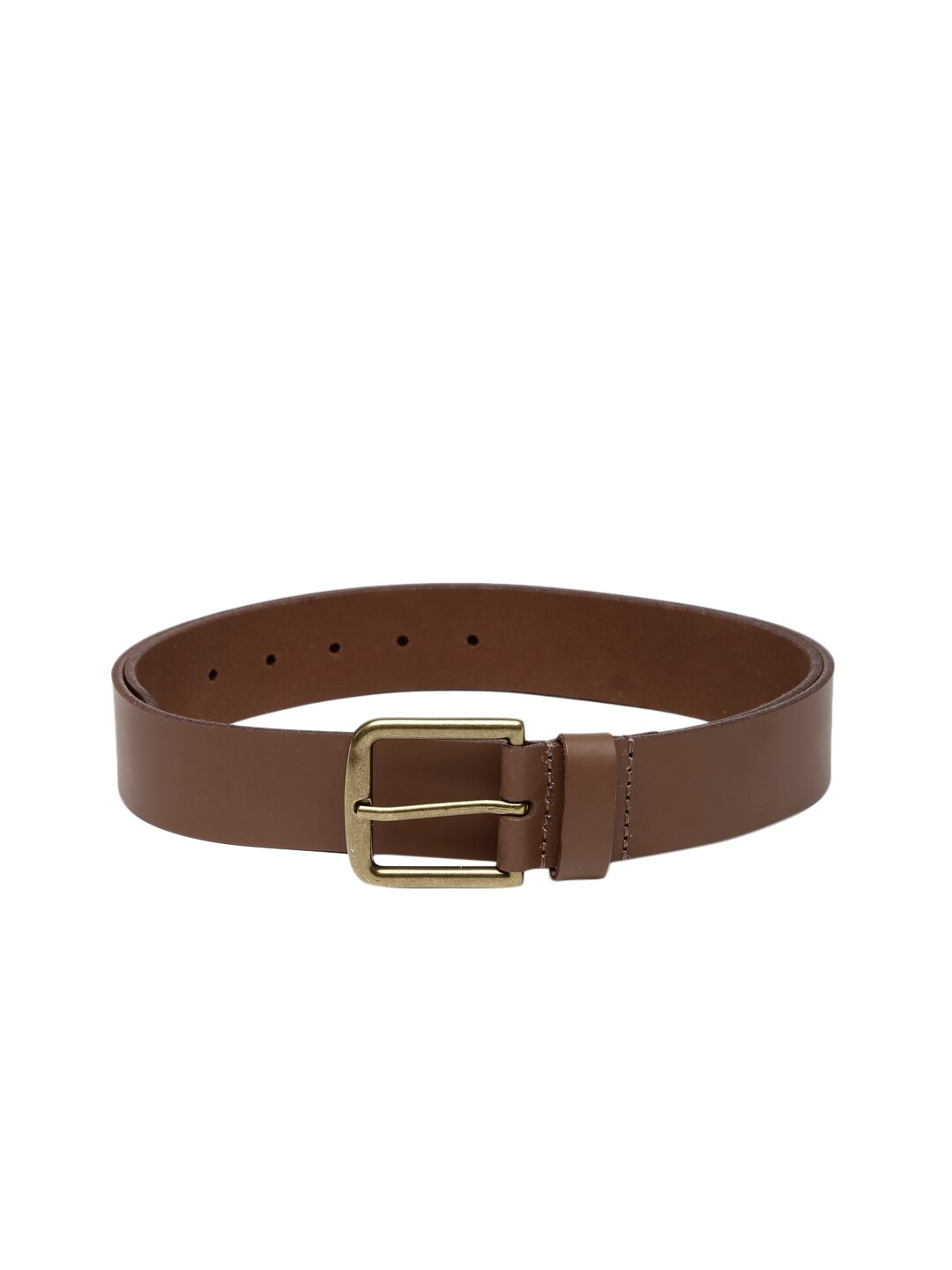 Celio Brown Leather Belt