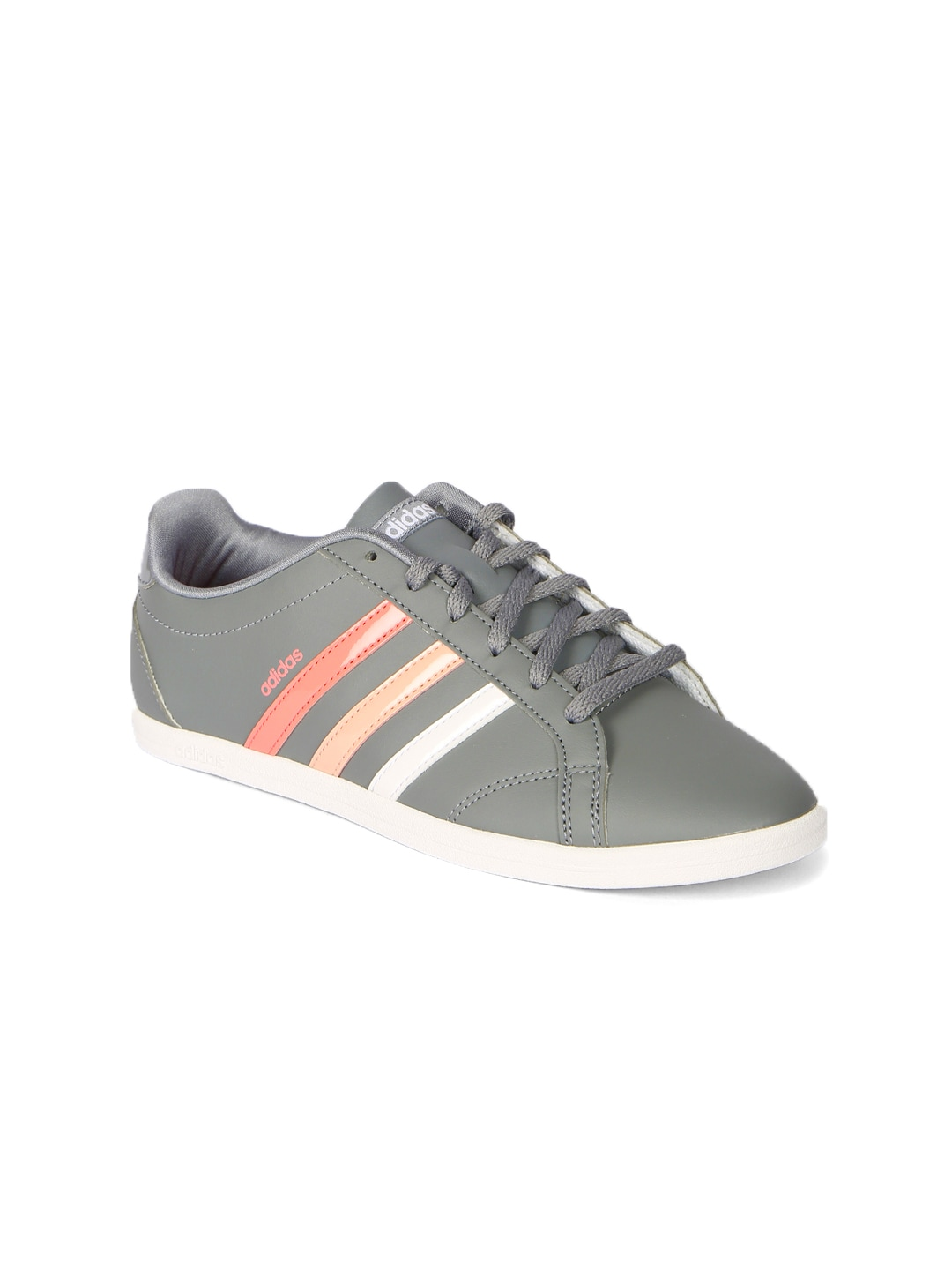 Coneo QT VS WhitePinkPurple Women's Casuals Adidas Neo