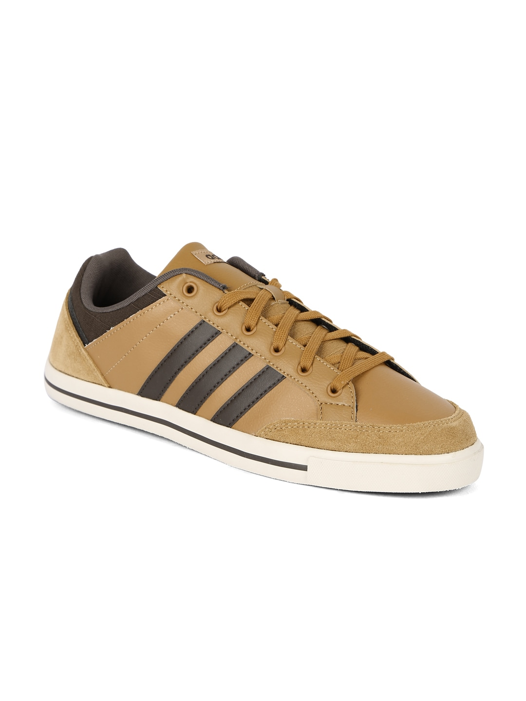 adidas neo brown shoes