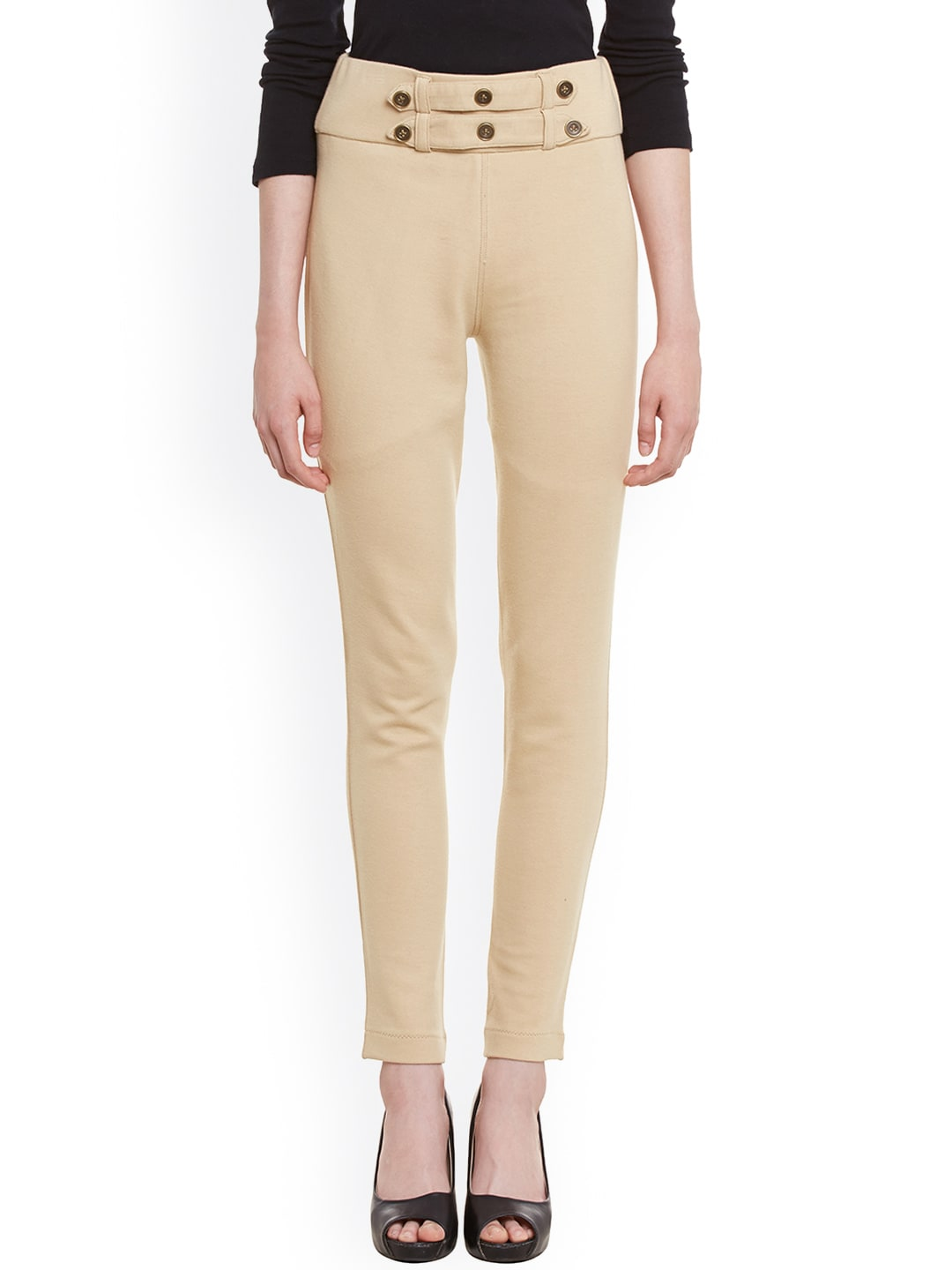 Rider Republic Beige Jeggings