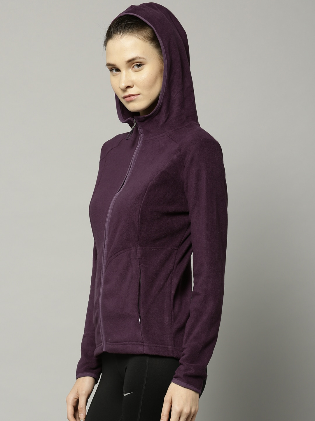 Buy Marks And Spencer Purple Hooded Sweatshirt - Sweatshirts for ...