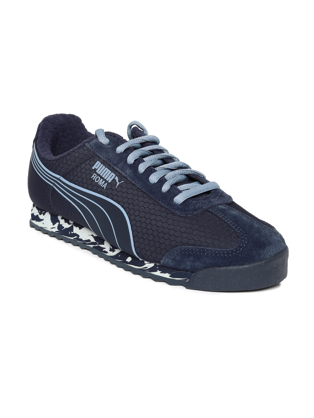 Puma Men Suede Archie Navy Blue Blue Shoes - Buy Puma Men Suede Archie Navy  Blue Blue Shoes online in India adf0d9707