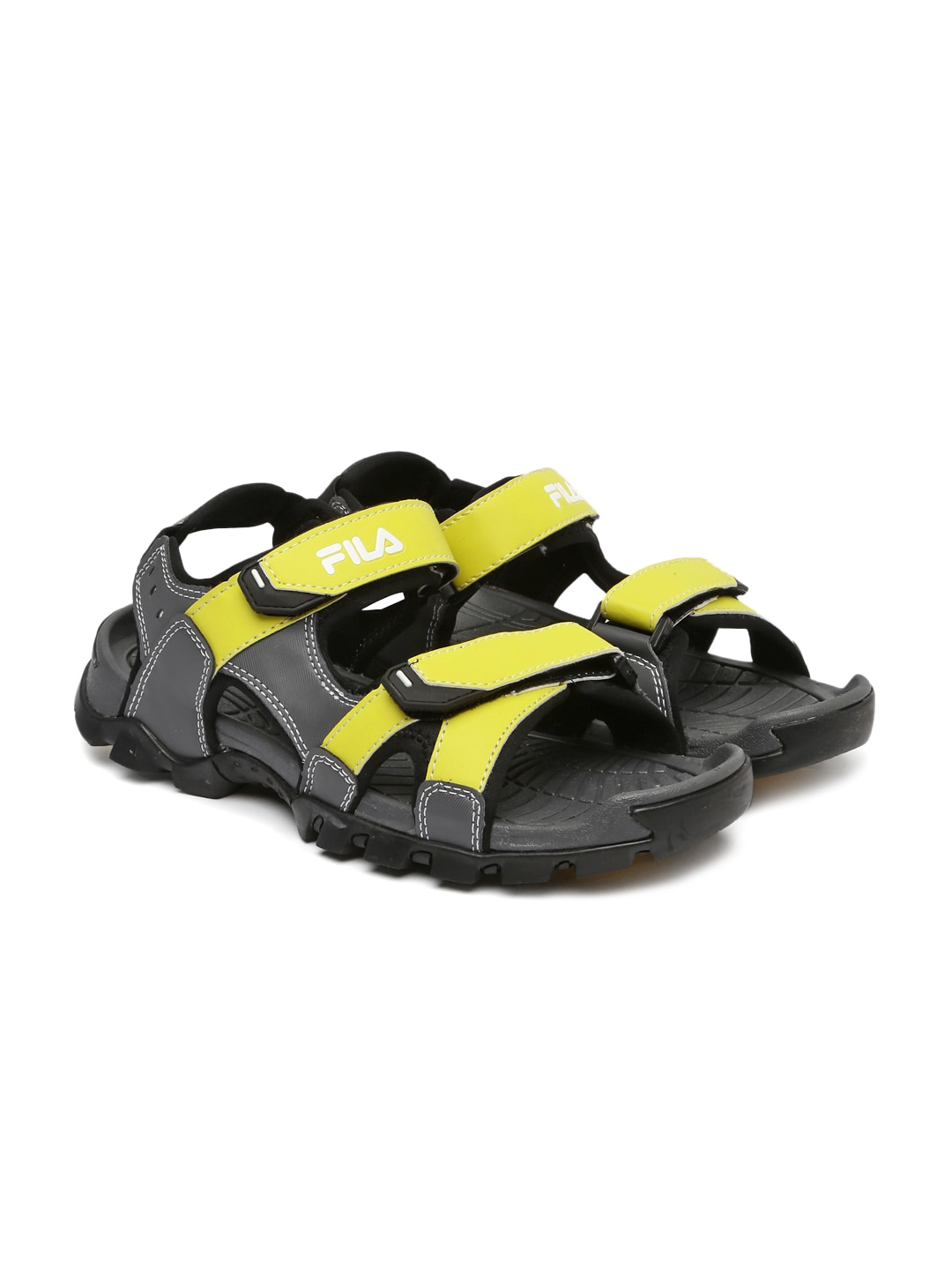 fa0d32fd7fff Men Grey Sandal Sports - Buy Men Grey Sandal Sports online in India