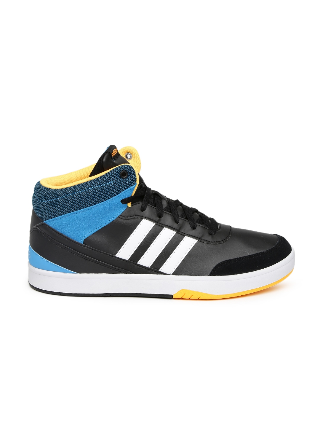Adidas Neo Black And Yellow