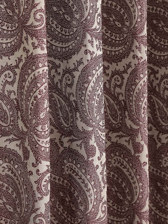 Brown paisley curtains - Brown Paisley Curtains