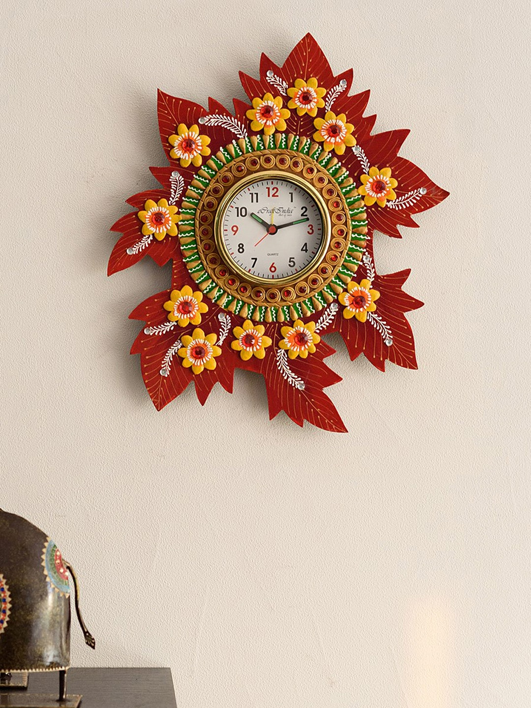 Clocks buy clocks time pieces online in india myntra amipublicfo Gallery