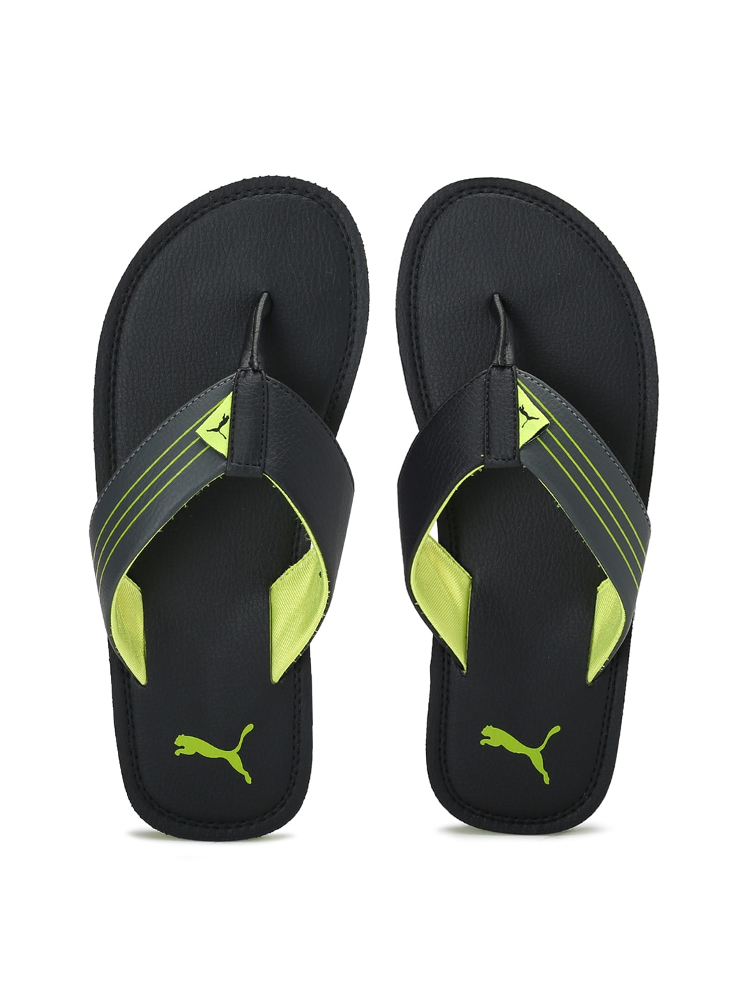 f5d10f9411b4e Puma Men Casual Black Flip Flop - Buy Puma Men Casual Black Flip Flop  online in India