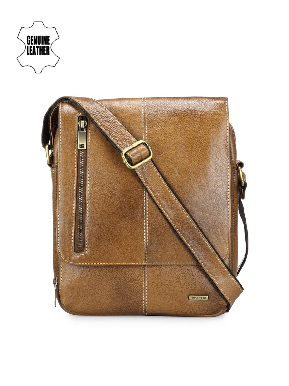6a095f8d36 Leather Messenger Bags - Buy Leather Messenger Bags online in India at best  price