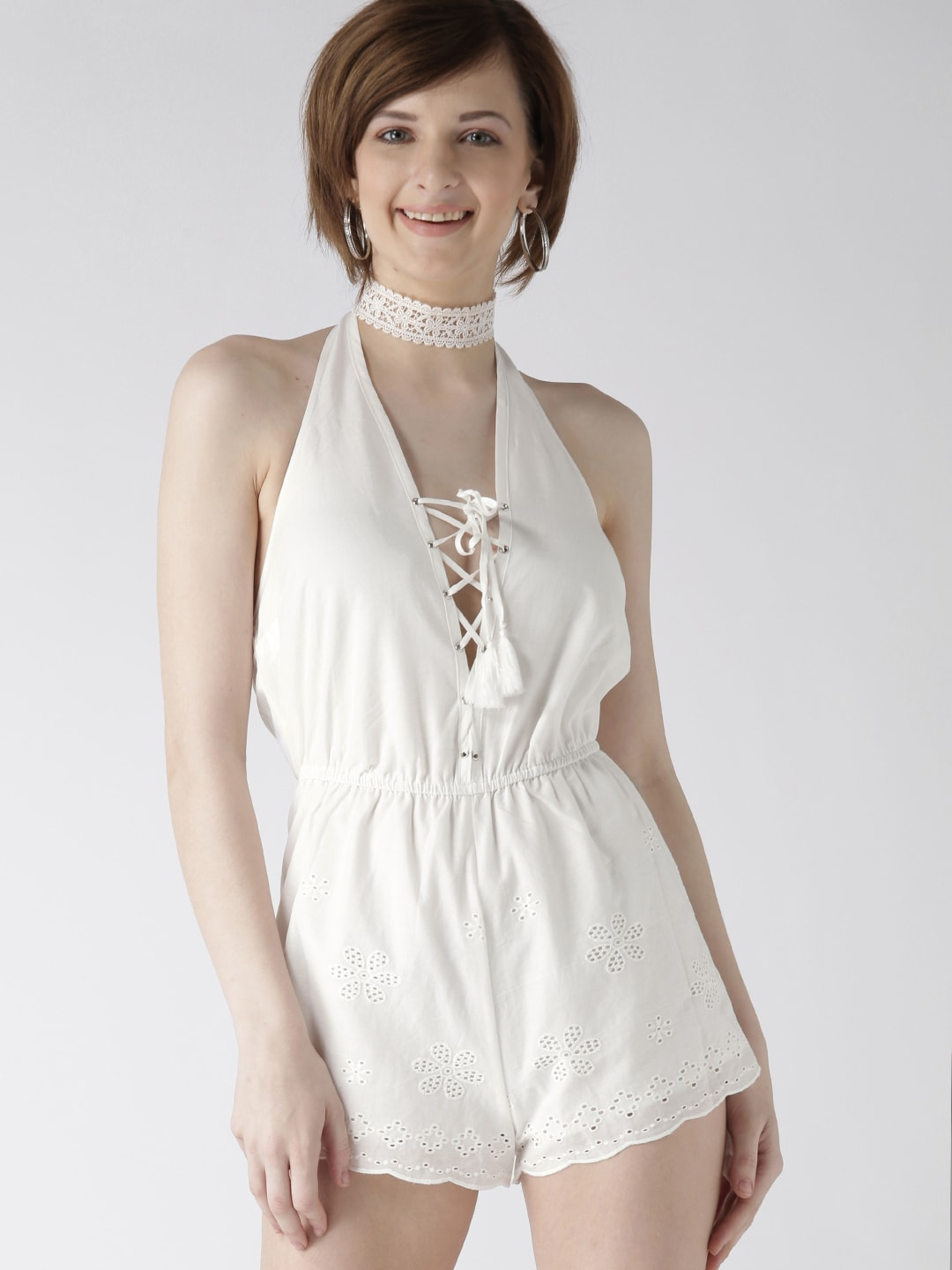 a5e4ccedac Halter Neck Jumpsuit - Buy Halter Neck Jumpsuit online in India